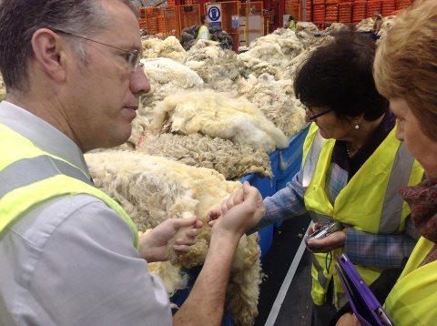 Wool Grading Depot