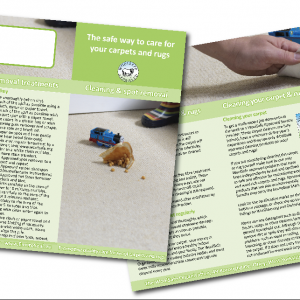 Carpet Care Leaflet & Spotting Guides